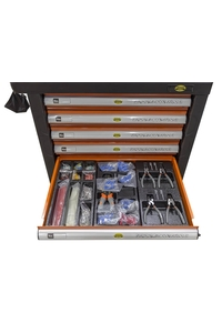 Product Εργαλειοφόρος Τροχήλατος Με Εργαλεία 650 τεμ. Benson 010603 base image