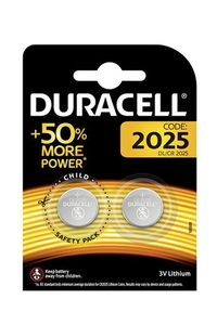 Product Μπαταρίες Λιθίου Duracell DL 2025 3V Σετ 2 τεμ. base image