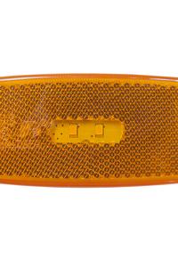 Product Φως Αντανακλαστικό Πορτοκαλί 12/24V 2 LED 111x45mm Benson 011038 base image