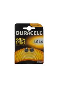 Product Μπαταρίες Αλκαλικές Duracell LR 44 2 τεμ. base image