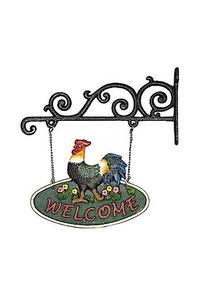 "Product Διακοσμητικό Welcome ""Κόκκορας""  base image"