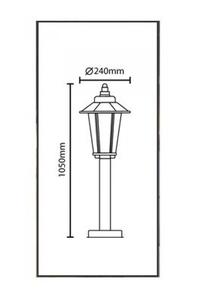 Product Φωτιστικό Στύλος Ανοξείδωτο 7290360 base image