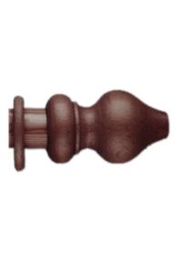Product Κουρτινόξυλο Ξύλινο Καρυδί Φ35 2m base image