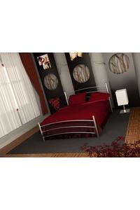 "Product Κρεβάτι Ημίδιπλο 110x190cm Μεταλλικό Σφυρίλατο ""Κέλλυ"" Σε 2 Χρώματα base image"