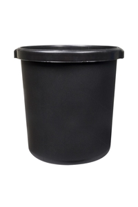 Product Καλάθι Γραφείου Πλαστικό Μαύρο Ø30x31cm base image