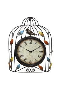 Product Ρολόι Μεταλλικό Κλουβί Marhome 15799 base image