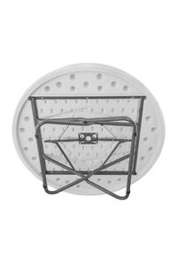 Product Τραπέζι Πλαστικό Πτυσσόμενο Στρογγυλό 110cm base image