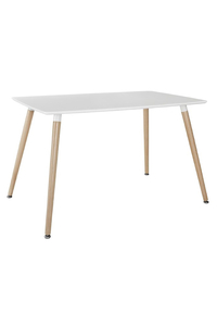 Product Τραπέζι Ξύλινο Randy 120x80cm Off White base image