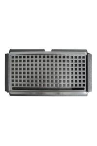 Product Σταχτοδοχείο Δαπέδου Με Κάδο Σκούρο Γκρι 30x70x15cm base image