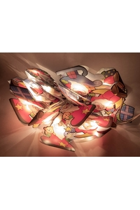 "Product Λαμπάκια Γιρλάντα Με 20 Φώτα ""Άγιος Βασίλης"" base image"