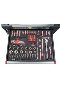 Product Εργαλειοφόρος Τροχήλατος Με Εργαλεία 1268 τεμ. Benson 011416 base image