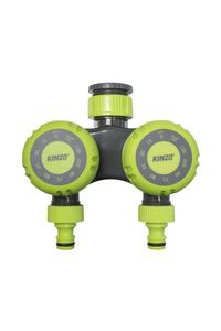 Product Χρονοδιακόπτης Ποτίσματος Διπλός Μηχανικός Kinzo 14831 base image