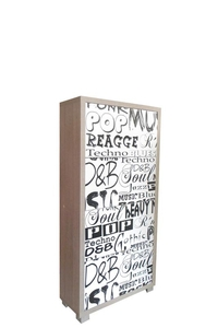 "Product Παπουτσιοθήκη Με 4 Πόρτες ""Music"" base image"