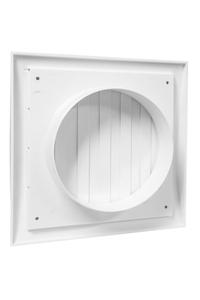 Product Εξαεριστήρας Πλαστικός Λευκός Φ115 190x190mm base image