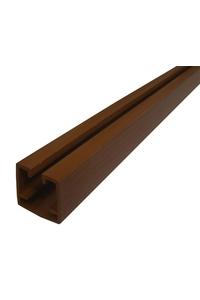 Product Οδηγός Πτυσσόμενης Πόρτας PVC Δρυς Σκούρο base image