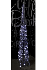 Product Φωτιστικό Πυραμίδα Διάφανη 100 LED 120cm base image
