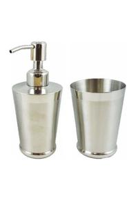 Product Dispenser Και Ποτηράκι Inox Σετ 2 τεμ. base image