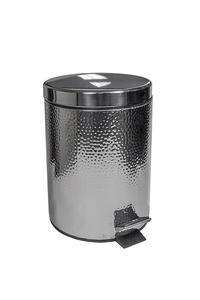 Product Κάδος Με Πεντάλ Σφυρίλατος Νίκελ 5Lt base image
