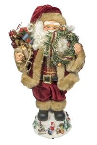 Product Διακοσμητικό Χριστουγεννιάτικο Με Μουσική & Κίνηση Αγ. Βασίλης 97155 base image