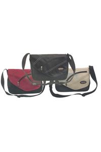 Product Τσάντα Ταχυδρόμου Μαύρη base image