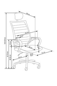 "Product Καρέκλα Γραφείου Μαύρο / Λευκό ""Socket"" base image"