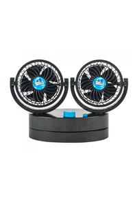 Product Ανεμιστήρας Διπλός 12/240V 2x11cm Πλαστικός Streetwize SWCF5 base image