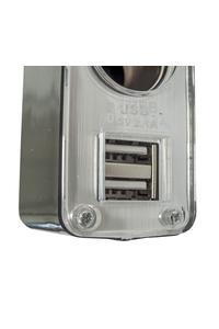 Product Πολύπριζο Αυτοκινήτου 12/24v 3 Θέσεων + 2 USB Streetwize SWPS9 base image
