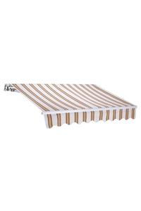 Product Τέντα 2.5x2m Μπεζ Ριγέ Linea T1372011/C base image