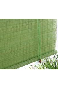 Product Κουρτίνα Μπαμπού Πράσινη 150x300cm base image