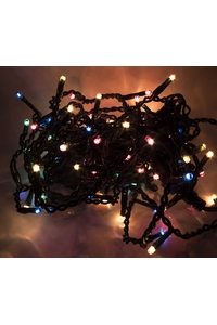 Product Λαμπάκια Βροχή Με 100 Φώτα & Επέκταση Πολύχρωμα base image