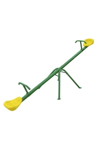 Product Τραμπάλα Παιδική Πράσινο - Κίτρινο base image