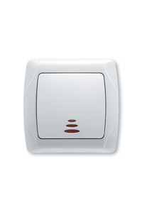 Product Διακόπτης Απλός Φωτιζόμενος CARMEN 90960X19 base image