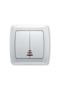 Product Διακόπτης Κομιτατέρ Φωτιζόμενος CARMEN 9056X050 base image