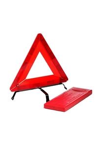 Product Τρίγωνο Προειδοποίησης Με Αντανακλαστικό Γιλέκο Rolson 42920 base image