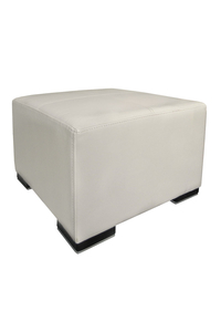 Product Πουφ Ikon Λευκό PU base image