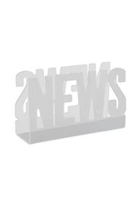 Product Εφημεριδοθήκη News Λευκή base image