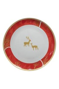 "Product Πιατέλα Χριστουγεννιάτικη 27cm ""Ελάφια"" base image"