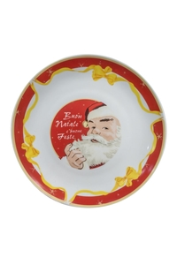 "Product Πιατέλα Χριστουγεννιάτικη 27cm ""Άγιος Βασίλης"" base image"