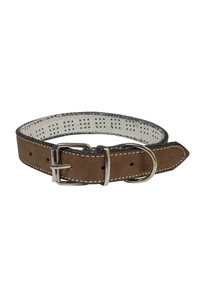 Product Περιλαίμιο Σκύλου Δερμάτινο Καφέ 59cm base image